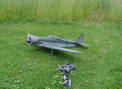 Fw.190 klar for  test